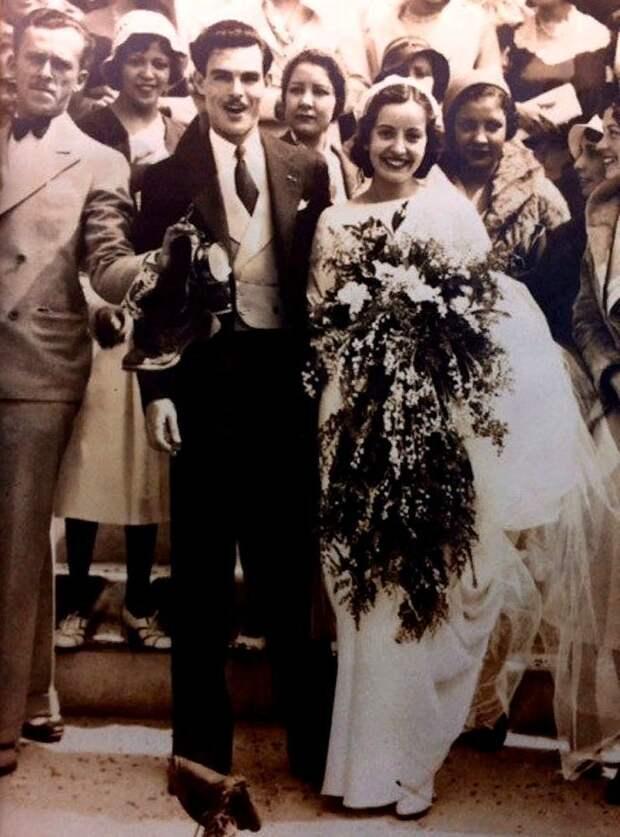Мария Тереза и Мануэль Морено, 1932 год