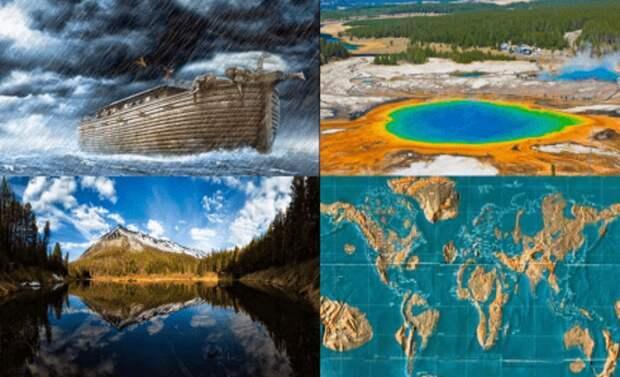 Карта затопления мира слегка изменилась: Ковчегом будет… Йеллоустоун.