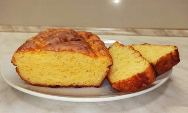 Сырный хлеб без дрожжей.Простой рецепт