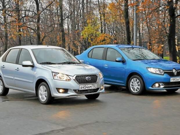 Datsun on-DO и Renault Logan: кредит доверия