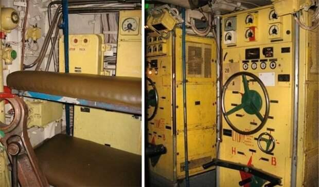 Спальные места - среди машин армия, подводные лодки, флот