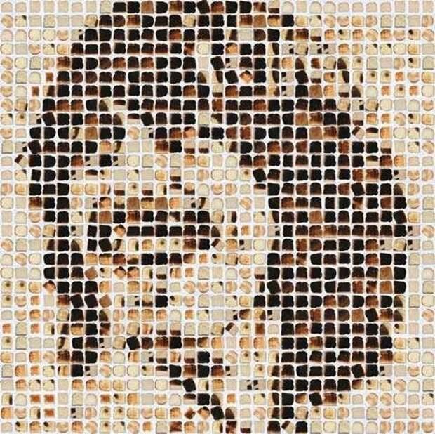 Хлебная мозаика Генри Харгривза (Henry Hargreaves)