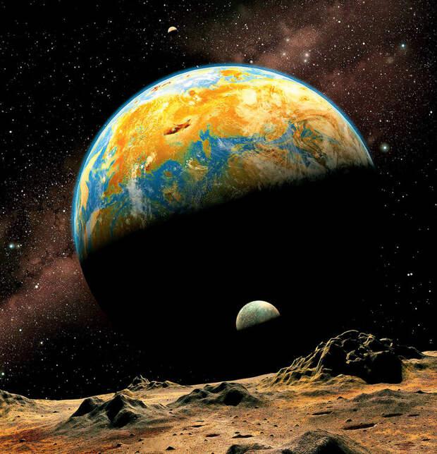 Координаты чудес: 9 любопытных фактов о ближнем космосе