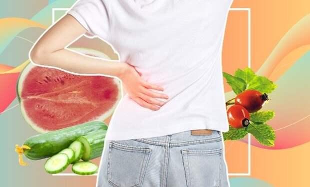 Мочегонные продукты — похудение, очищение и детокс вашего тела