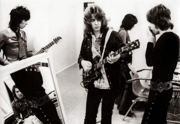 Редкие фото The Rolling Stones. 1969 год.  Жуткий концерте в  Альтамонте ( Калифорния)