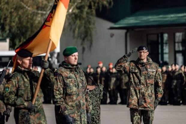 В бундесвере недовольны планами немецких законодателей сократить армию