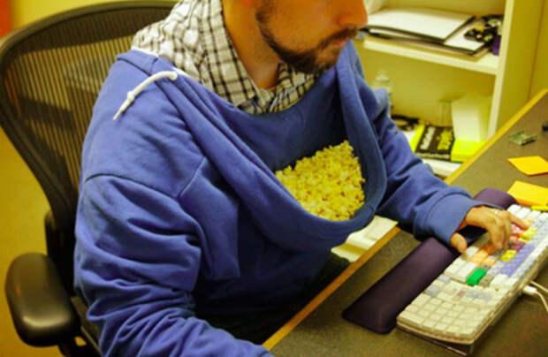 Оригинальный способ подачи снеков для себя любимого. /Фото: 3.bp.blogspot.com