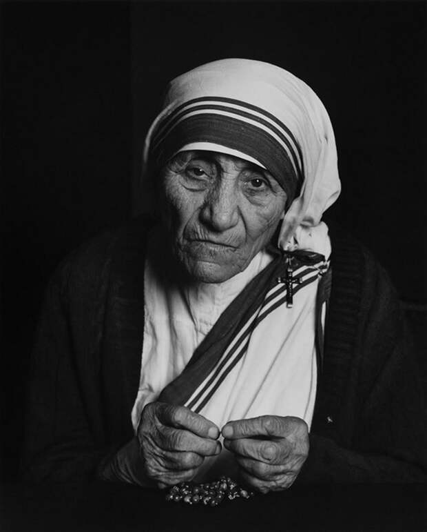 Mother Teresa by Yousuf Karsh