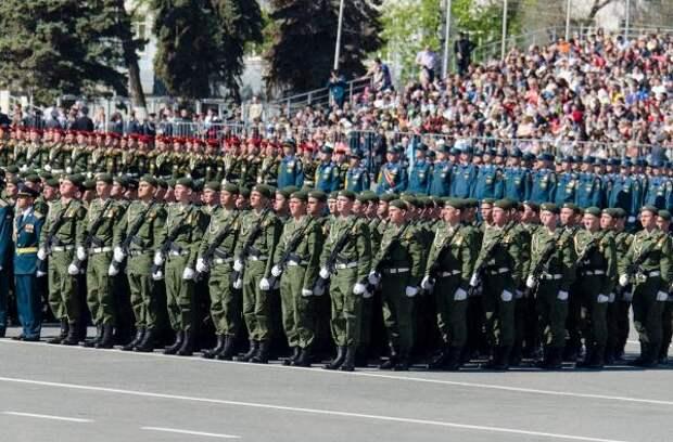 В Новороссийске состоялась первая репетиция парада Победы