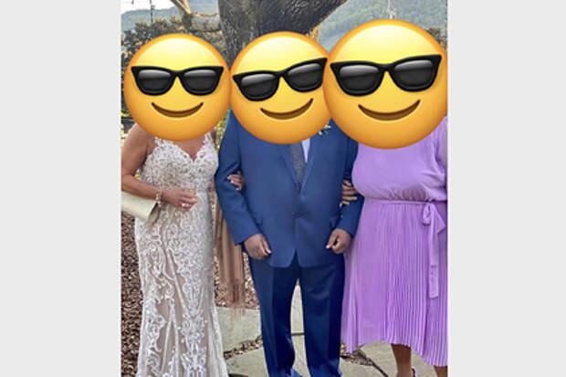 Женщина пришла на свадьбу в платье как у невесты и разозлила пользователей сети