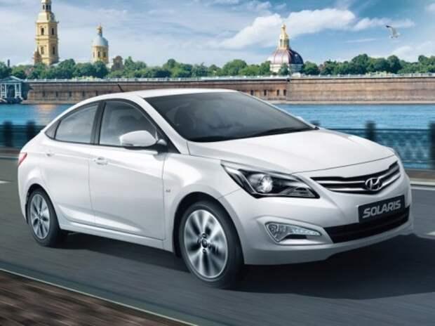 Hyundai Solaris стал лидером продаж на российском авторынке в январе