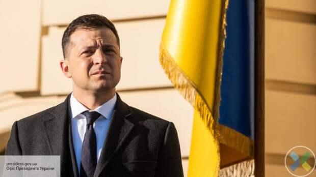 Рейтинг Зеленского на Украине упал до 18%