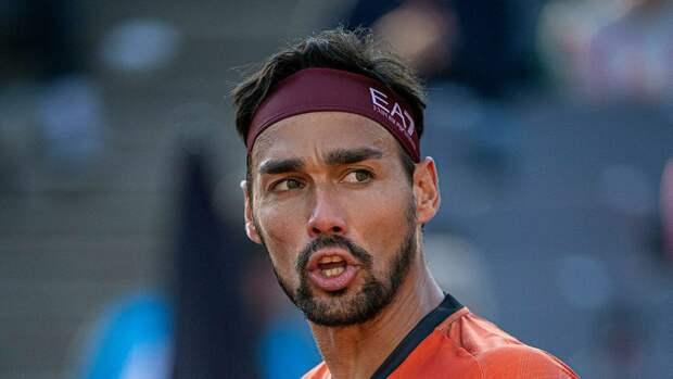 Фоньини дисквалифицировали с турнира ATP в Барселоне за неспортивное поведение