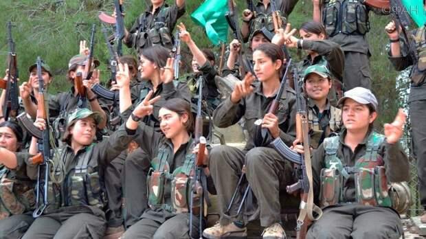 Сирийские курды: единственный шанс - сдаться Асаду
