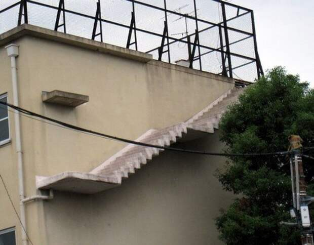лестница в воздухе