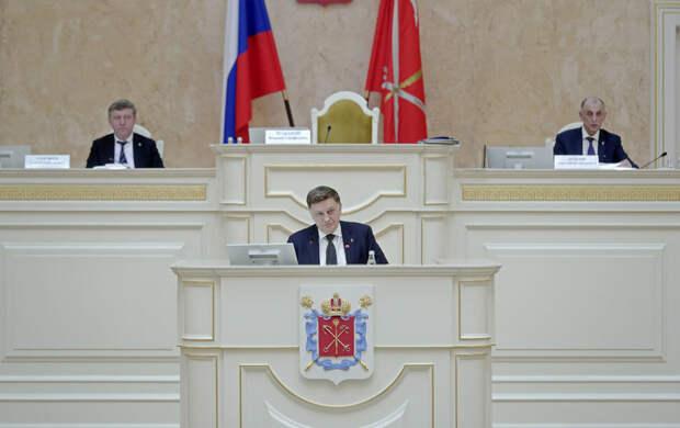 В заксе Петербурга прокомментировали Послание Путина Федеральному собранию