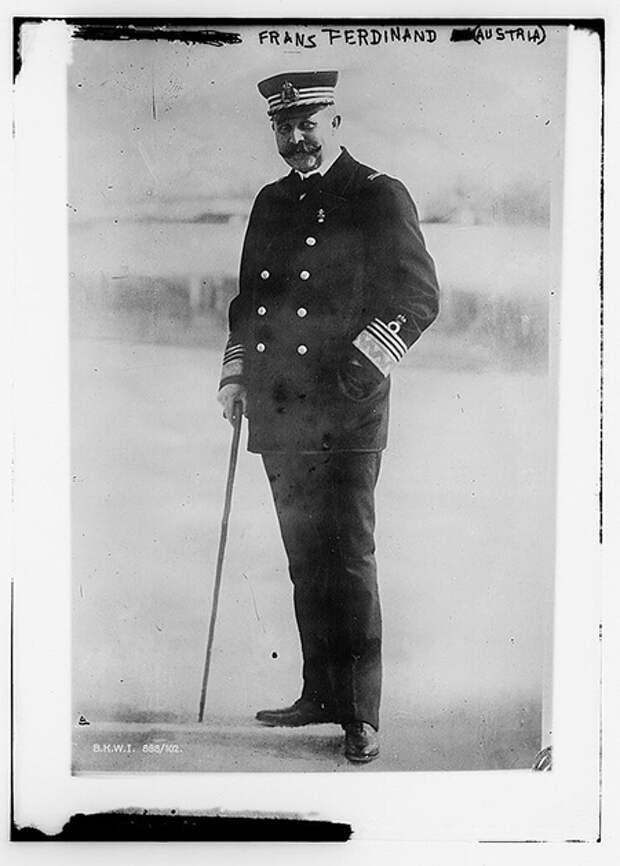 Франц-Фердинанд. Фото: Библиотека Конгресса США