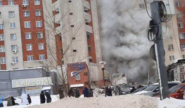 Обрушилась часть здания: в Нижнем Новгороде в жилом доме взорвался газ