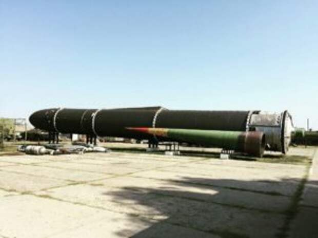Avia.pro: российская ракета ПРО «Нудоль» на испытании превратилась в огненный шар