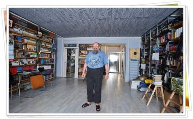 Анатолий Вассерман: портрет в домашнем интерьере