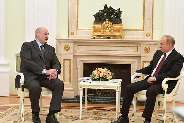 Путин рассказал опопытках свергнуть Лукашенко