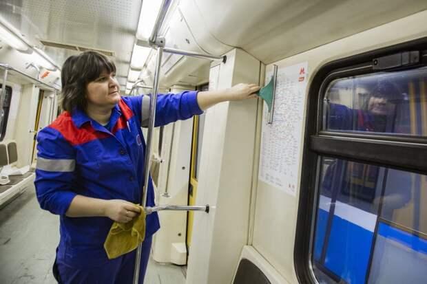 В поездах метро появились схемы с МЦД-1 и МЦД-2