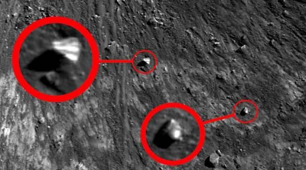 Пирамидальный НЛО на Луне обнаружил уфолог