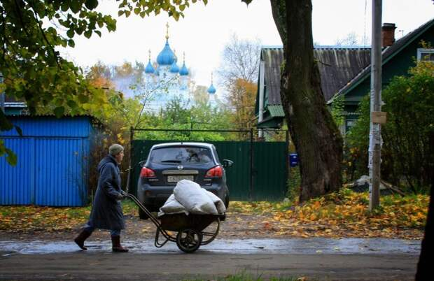 Город, в котором остановилось время Гатчина, Егерская слобода, город, фоторепортаж