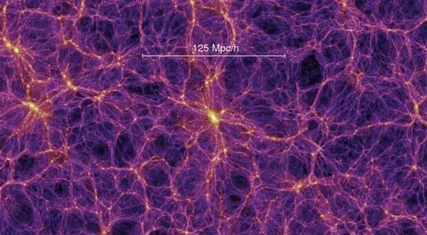 Нейроны в мозге человека и сеть галактик оказались похожи