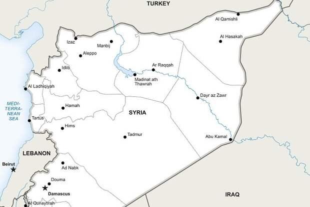 Российские самолеты разбомбили партию оружия, предназначенную для сирийских террористов