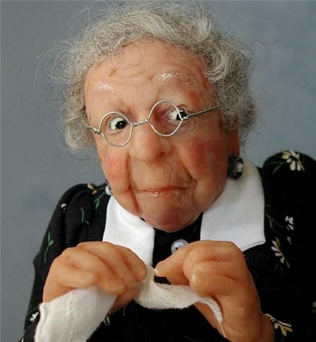 Жизнерадостные старички и старушки от Annie Wahl