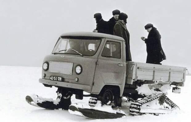 УАЗ-451С на испытаниях СССР, автомобили, советская техника, советские машины