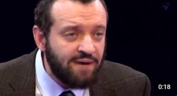 Михаил Финкель на израильском русскоязычном тв гоняет укропатриоток