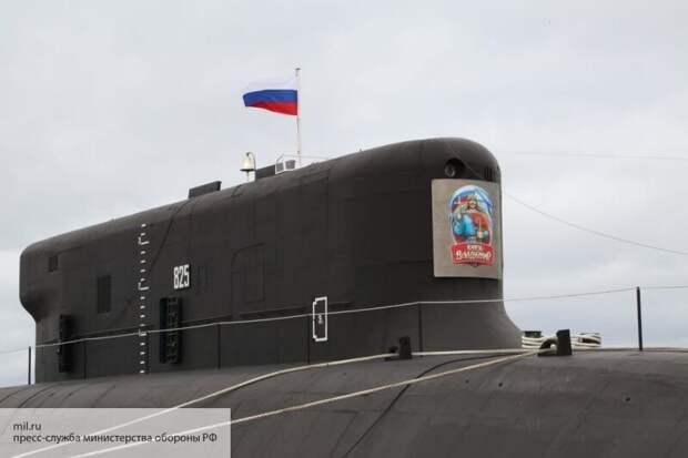 В Китае назвали российскую субмарину кошмаром НАТО