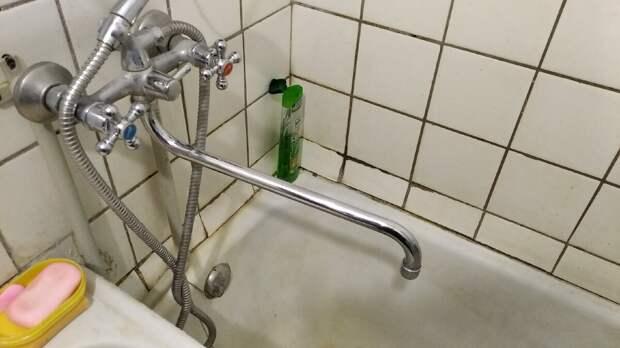 фото автора, вот такая была ванна