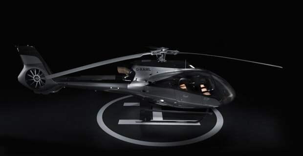Вертолёт Aston Martin
