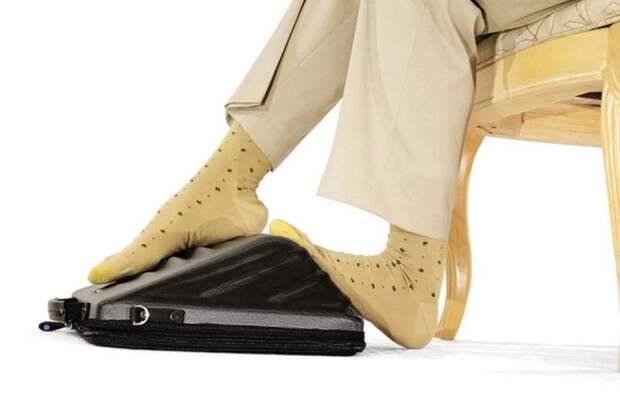 Ноутбук улучшает циркуляцию крови в ногах