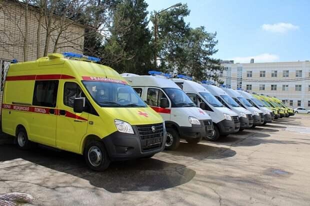 Кубань получила 200 млн рублей на покупку машин скорой помощи