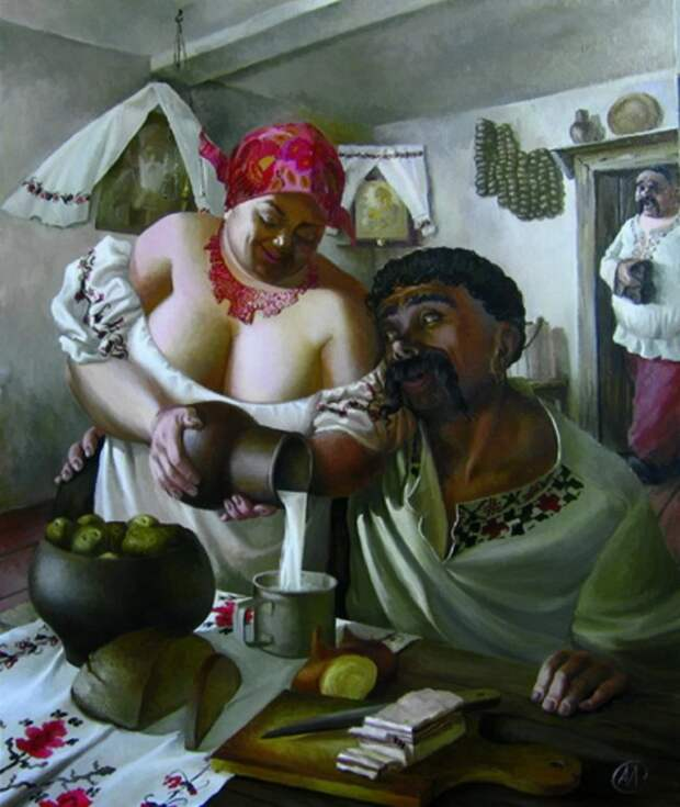 Красавицы-толстушки художника Александра Иванова
