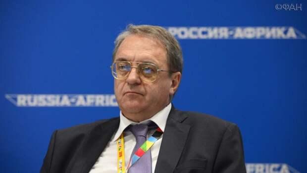 Михаил Богданов провел встречу с министром ЦАР по стратегическим инвестициям