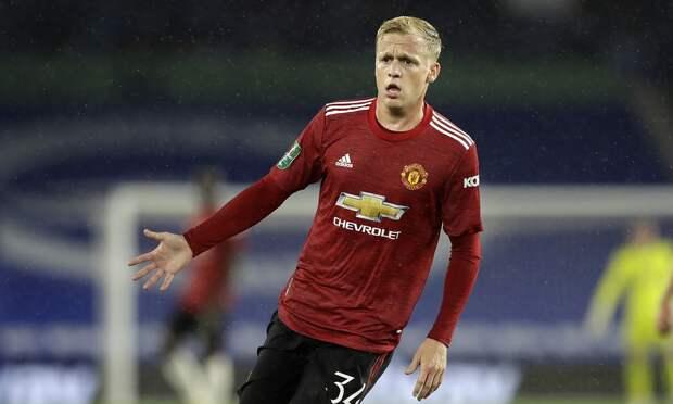 «Ювентус» попробует арендовать у «Манчестер Юнайтед» ван де Бека