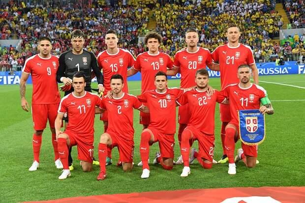 Сборная России по футболу проведет товарищеский матч с Сербией