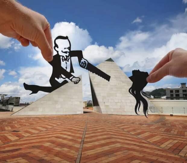 Креативные фото Рича МакКора Paperboyo