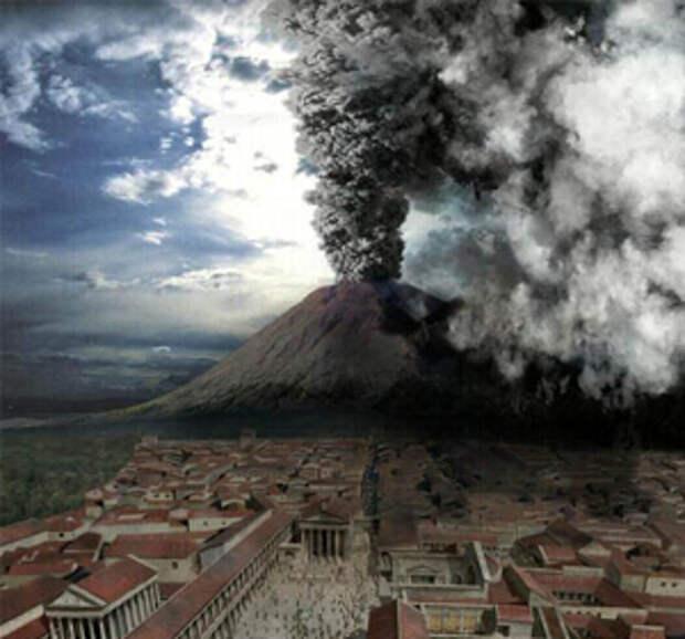 Восстановлена точная хронология гибели семьи Помпей при извержении Везувия