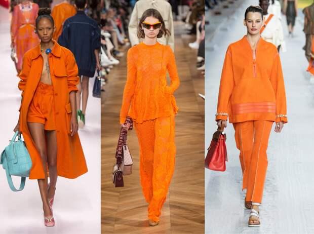 Главные цвета в коллекциях весна-лето 2021