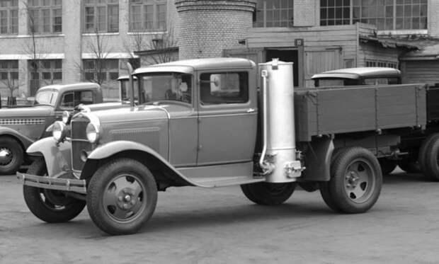 Автомобиль на дровах: как он работает? авто, дрова, факты, юмор