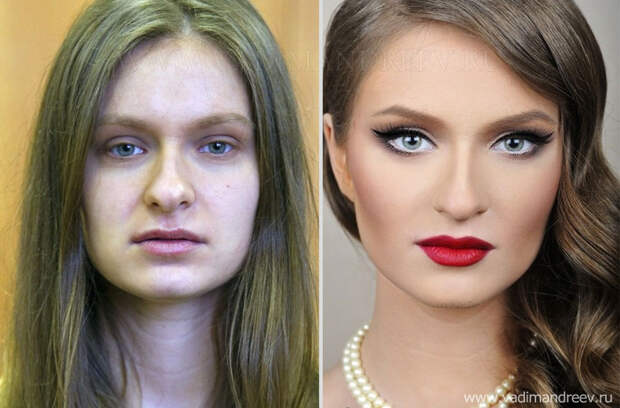makeup08 Невероятно, но факт: визажист творит настоящие чудеса!