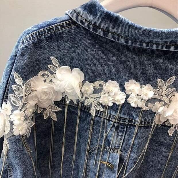 весенняя джинсовка