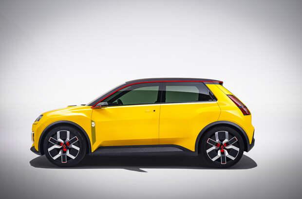 Renault представила маленький электрокар, посвященный модели R5