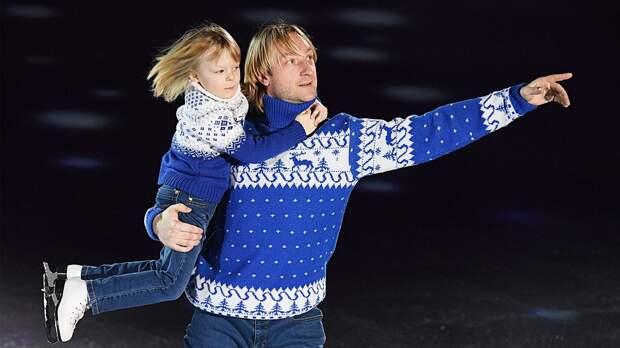 Сын Плющенко: «Хочу обыграть папу. Моя задача— завоевать пять золотых медалей напяти Олимпиадах»